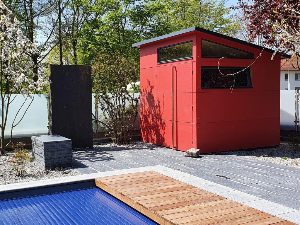 Wellness-Oase Darmstadt Naturpool Rollladenabdeckung Sauna Whirlpool Baumann 1600 1200
